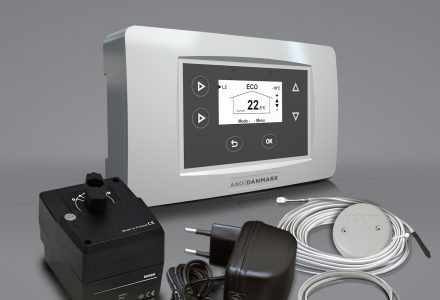 AM 40 ELEKTRONISK VARMESTYRING, MED DIGITALT DISPLAY